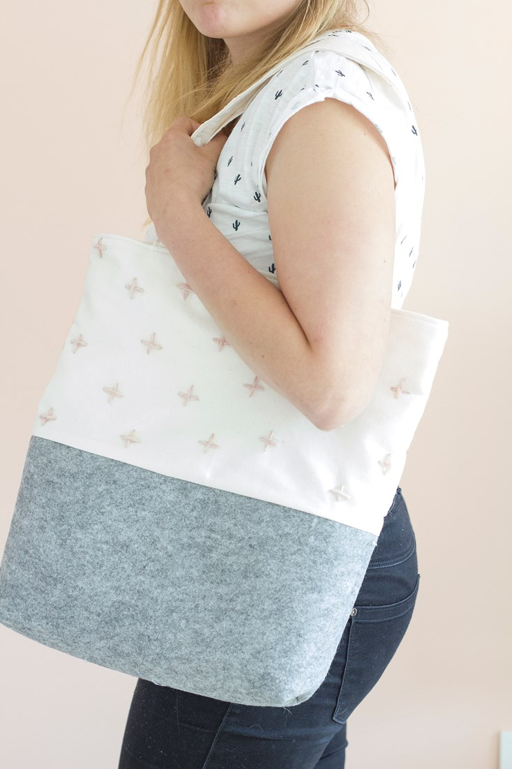 DIY hippe shopper | Oh Cosy Craft